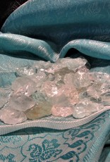 Aquamarine Tumble- High Grade (polished raw) w/Lithium