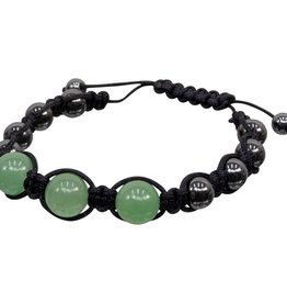 Bracelet - Magnetic Hematite Green Aventurine -  95302