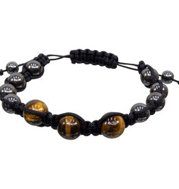 Bracelet - Magnetic Hematite Tigereye -  95305