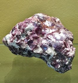 High Grade Bi-Color Bubble Lepidolite - large