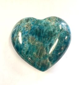 Apatite Heart - 3 + inches