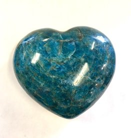 Apatite Heart - 4 inches