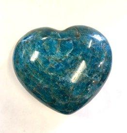 Apatite Heart- Madagascar - 4 inch