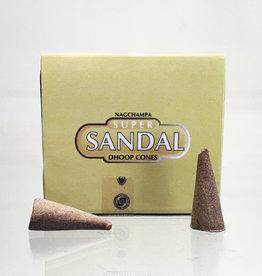 Incense - Sataya Sandal Cone - ISAT-SSANDCN