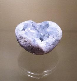 Celestite Heart - 2-3 inches