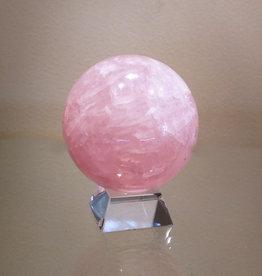 Rose Quartz Sphere - Medium