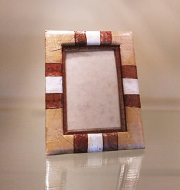 "Indonesian Banana Leaf Photo Frame - 4"" x 6"""