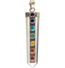 Chakra Pendant on Crystal Point - 98802