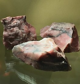 RARE Guava Quartz with Lithium, large, raw
