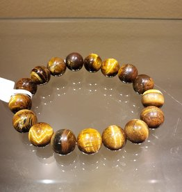Bracelet - Tigers Eye - 12mm - 30438291