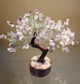 Fluorite Gemstone Tree - 10 inich - 300 Crystals