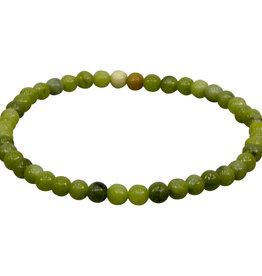 Bracelet - Chinese Jade - 4mm - 98632