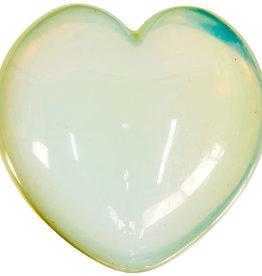 Opalite Puffed Heart - 62405