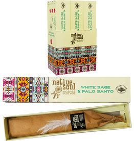 Incense - Green Tree White Sage & Palo Santo - 15 gr - 72787