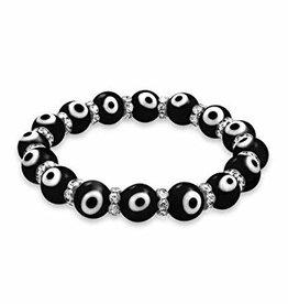 Evil Eye Bracelet - Black - 95221