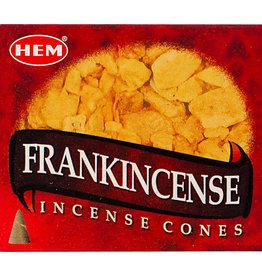 Incense - Hem Frankincense Cones - 72037 (IHEM-CN-FRAN)