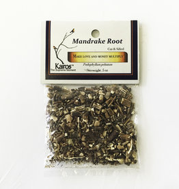 Herbs - Mandrake Root cut sifted - KH-MAN-CS