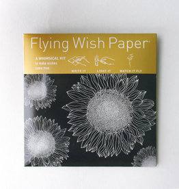 Flying Wish Paper - Sunflowers