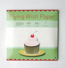 Flying Wish Paper - Birthday Cupcake