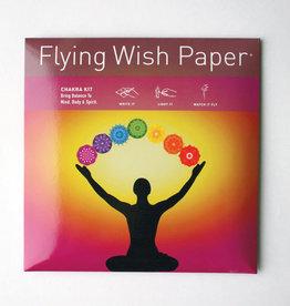 Flying Wish Paper - Chakra - FWP-O-013