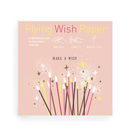 Flying Wish Paper - Make A Wish