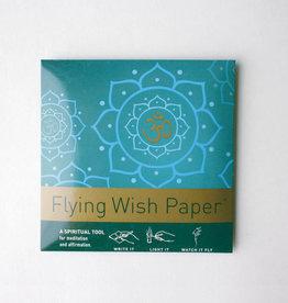 Flying Wish Paper - Golden Om - FWP-M-036