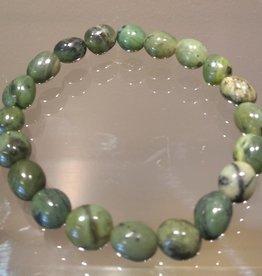 Jade Nephrite Free-Form Bracelet