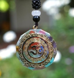 Orgone Chakra with Om Symbol Pendant