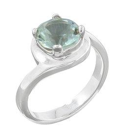 Green Amethyst Ring (Size 7) - R-21066-06