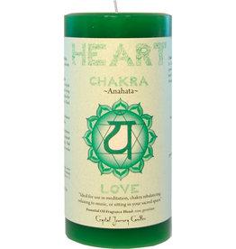 Chakra Heart 3X6 Pillar - CK114