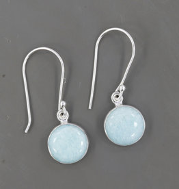 Amazonite and Sterling Silver Earrings - ER-20006-149-25-6