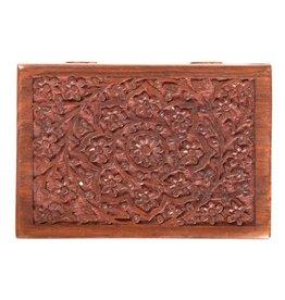 Box - Lotus Wood Box - 7 x 5 inches - 67065
