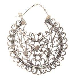 Earrings - Flowery Balinese - E2220