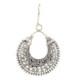 Earrings - Balinese Hoop - E2223