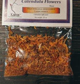 Herbs - Calendula Flowers (Marigold) Whole .25 oz - KH-CAL-WH