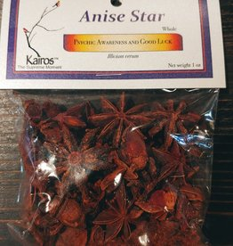 Herbs - Anise Star Whole 1 oz - KH-ANI-WH