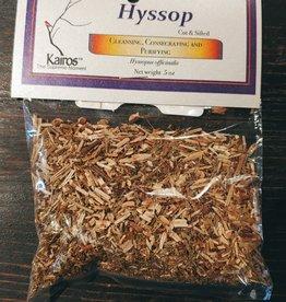 Herbs - Hyssop Cut Sifted .5 oz - KH-HYS-CS