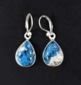 K-2 Jasper Sterling Silver Earrings - ER-20006-353-29-4