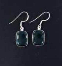 Bloodstone Sterling Silver Earrings - ER-20970-17-30-41