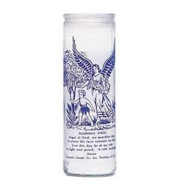 7 Day Candle - Angel Guardian, White