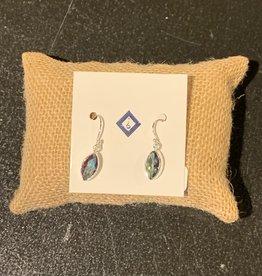 Mystic Quartz and Sterling Silver Earrings - ER-20006-17-13