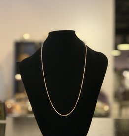 Necklace - Sterling Silver Adjustable Chain