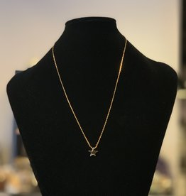 Necklace - Gold Plated Star