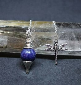 Pendulum - Lapis and Dragonfly - 00632