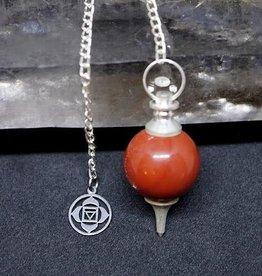 Pendulum - 1st Chakra - Red Jasper - 00732