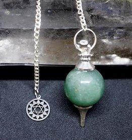 Pendulum - 4th Chakra - Green Aventurine - 00732