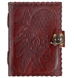 Journal - Dream Catcher Leather - 5 x 7 inches - 2939