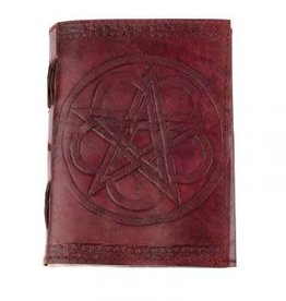 Journal - Pentacle Leather - 6 x 8 inches - 2930