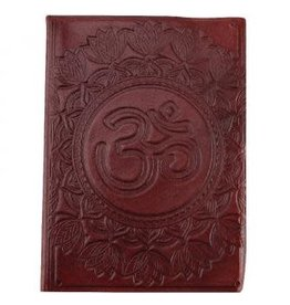 Journal - Om Leather - 6 x 8 inches - 2920