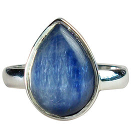 Ring - Kyanite Dewdrop Sterling Silver (Size 6) - R-5
